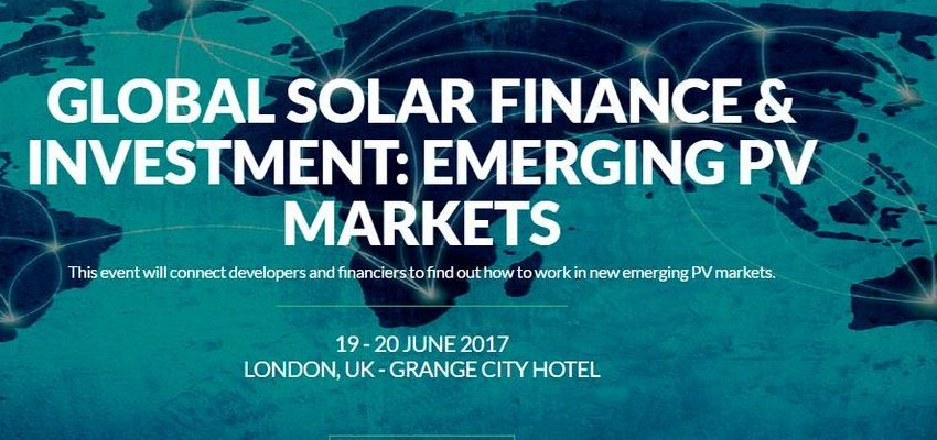 Global Solar Finance & Investment: Emerging Pv Markets