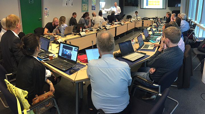 Vicinity Review Session In Brussels