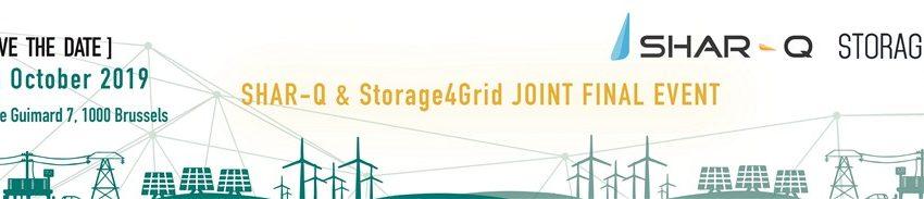Shar-q & Storage4grid Joint Final Event